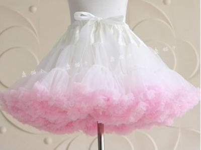 Women Short Petticoat Underskirt Mini Crinoline Tutu Slip Wedding Dresses Skirt