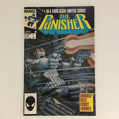 THE PUNISHER #1 1st Solo Series Marvel Comics 1985 Spider-Man Daredevil NM!!!