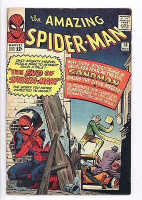 Amazing Spider-Man #18 Vol 1 Very High Grade 1st Appearance of Ned Leeds