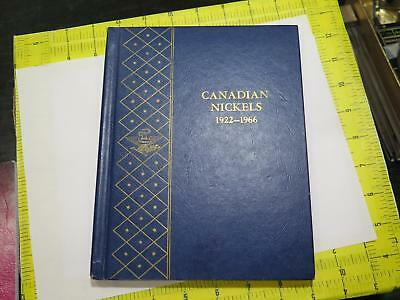 Canada 5 Cents Nickels 1922-1979 Whitman Album Old World Coin Collection Lot 60P