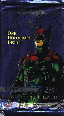 BATMAN FOREVER - Fleer Ultra 1995 Card Packs (18) by Fleer #NEW