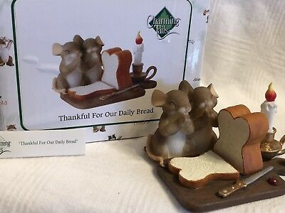 "Charming Tails ""THANKFUL FOR OUR DAILY BREAD"" DEAN GRIFF NIB"