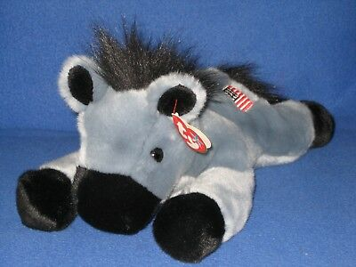 TY LEFTY the DONKEY BEANIE BUDDY - MINT with MINT TAG