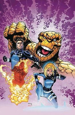 Life Of Captain Marvel 2 Humberto Ramos Fantastic Four Variant Nm