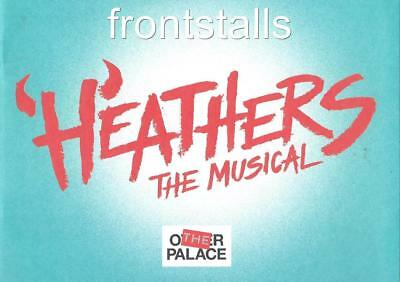 Heathers The Musical - The Other Palace - Carrie Hope Fletcher - Jamie Muscato