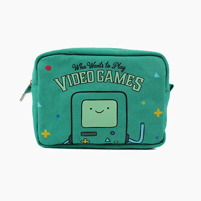 Cartoon Networks Adventure Time BEEMO BMO Pouch Case Organizer Cute Anime