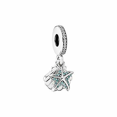 Genuine Pandora Tropical Starfish & Sea Shell 792076CZF CHARM  925 ALE