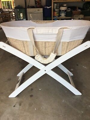 Adairs Moses Basket And Stand