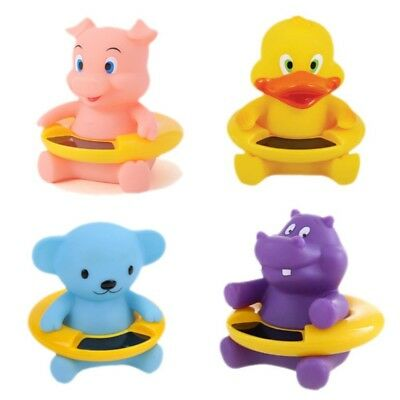 Hot Cold Water Temperature Thermometer Floating Animal Baby Bath Tub Tester Toys