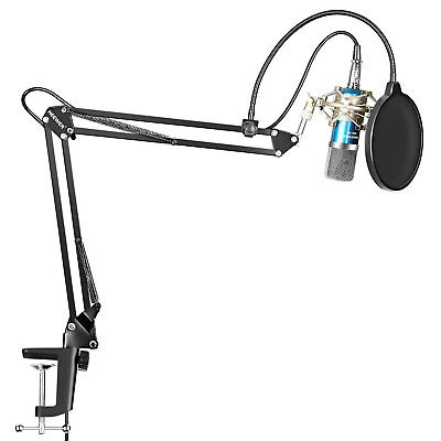 Neewer Pro Studio Broadcasting Recording Condenser Microphone Arm Stand Kit