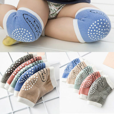 Multi Crawling Anti-Slip Knee Pads Casual Socks for Unisex Baby Toddlers Kid NEW