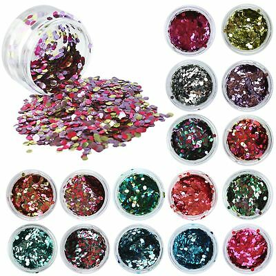 PaintGlow Biodegradable Cosmetic Glitter Shaker Body Face Hair & Fixative Gel