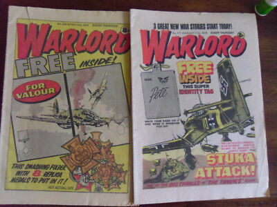 Two Warlord Comics From 1978 And 1979 In Good Condition