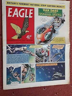 EAGLE COMIC.......30th May  1959....vol 10..no 22....DAN DARE +