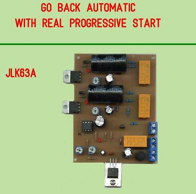 Module back and forth automatic with real progressive start,all scales.