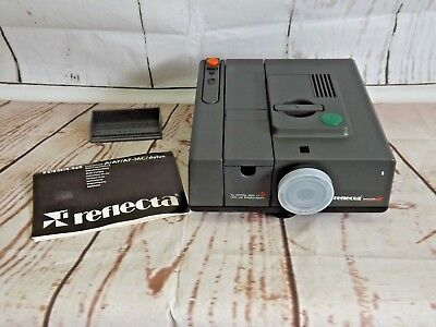 Reflecta Diamator AF Slide Projector with Wired Remote. VGC.  (Hospiscare)