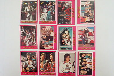 Bay City Rollers set of 66 cards 1975 Topps excellent-near mint