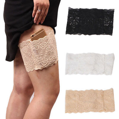 Non-Slip Elastic Sock Anti-Chafing Thigh Bands Prevent Thigh Chafing Socks 1 PC