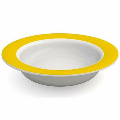 Onamin 19cm Keep Warm Bowl, Fillable double-sided wall Non-slip Thermo soft grip