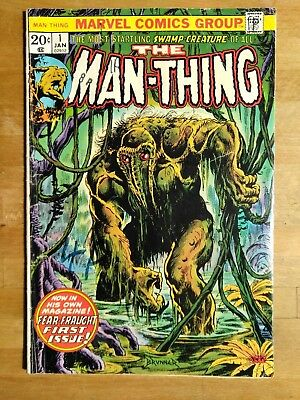 Man-Thing #  1 - 2Nd Appearance Howard The Duck - Marvel 1973