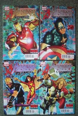 Avengers #31 Thru # 34 - 'end Times' - 4 Issues