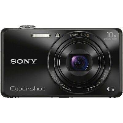 Sony DSC-WX220 Black Compact Point and Shoot Digital Still Camera