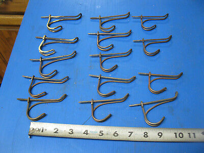 14 Vintage Antique Wire Coat Hooks
