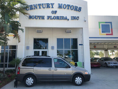 2002 Pontiac Montana  Clean CarFax 8 Passenger Power Windows CD Cassette