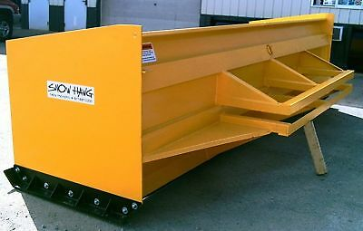 14' Snow Hawg Snow Pusher Plow for Wheel Loader