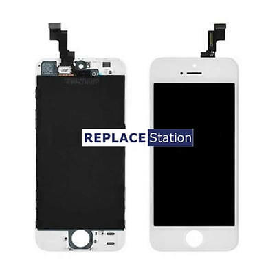 For iPhone SE LCD Screen Replacement White Touch Display Digitizer Genuine OEM