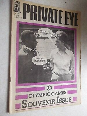 Private Eye. Olympic Games Souvenir Issue.  1976