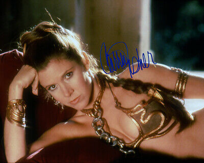 REPRINT - CARRIE FISHER 3 ~ Autographed signed photo 8x10 STAR WARS