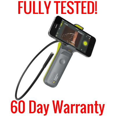 Ryobi Es5001 Phone Works Inspection Scope Wireless Pipe Walls Light Camera Video