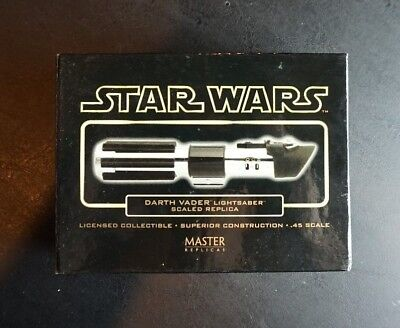 Darth Vader GOLD .45 Scale Lightsaber STAR WARS Master Replicas ANH SW-306