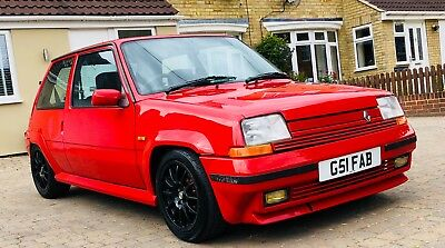 renault 5 gt turbo phase 2 , hot hatch, not gti, rs, cosworth, phase 1