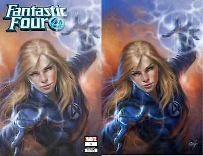 Fantastic Four 1 Comicxposure Lucio Parrillo Virgin Variant Set Pre-Sale 8/29