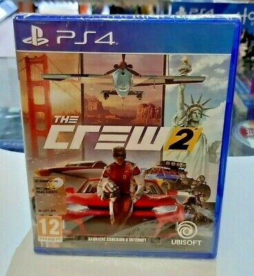 The Crew 2 PS4 NUOVO ITA