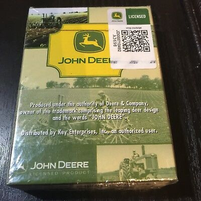John Deere Collectible Playing Cards Licensed