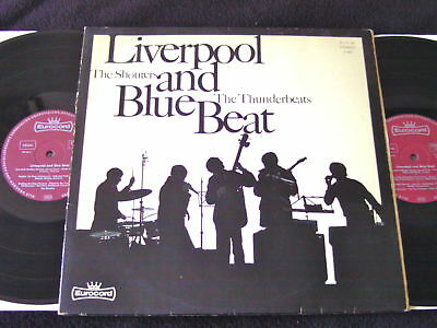 """The Shouters / The Thunderbeats """"Liverpool And Blue Beat"""" German Beat"""