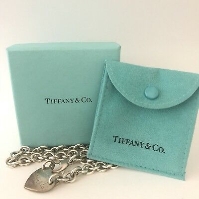Tiffany & Co. Please Return to Tiffany & Co Heart chain necklace