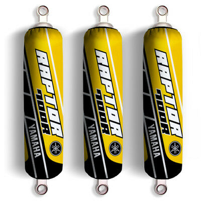 Yellow Shock Covers Yamaha Raptor YFM 700 R Special Edition (Set of 3) NEW