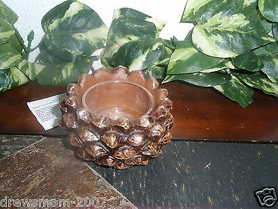 YANKEE CANDLE PINECONE TEALIGHT CANDLE HOLDER Tea Light Holder