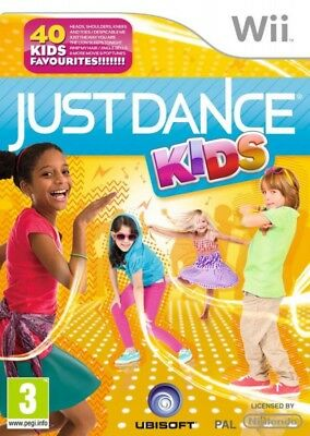 Nintendo Wii game - Just Dance: Kids ENGLISH boxed
