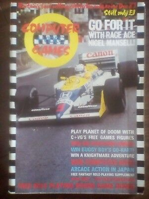 C+VG Computer And Video Games December '87 Very Rare Issue