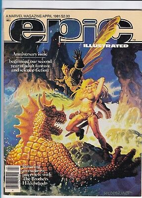 Epic Illustrated #5_April 1981_Very Fine Minus_Anniversary Issue_Bronze Age!