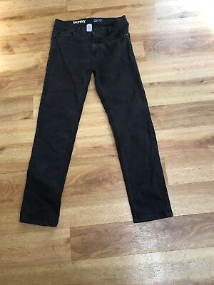 Next Boys Black Skinny Jeans Age 15
