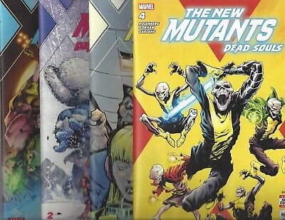 The New Mutants: Dead Souls #1 2 3 4 (Of 6) 1St Print 2018 Series Marvel Comics!