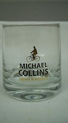 (6) Michael Collins Irish Whiskey - Branded Barware Rocks Glass *new*