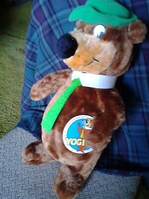 "Plush Yogi Bear toy in very good condition.  16"" tall."