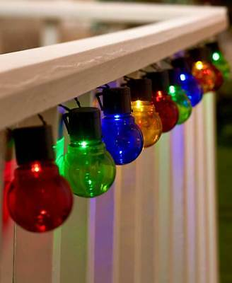 The Lakeside Collection Solar String Light Set - Multi